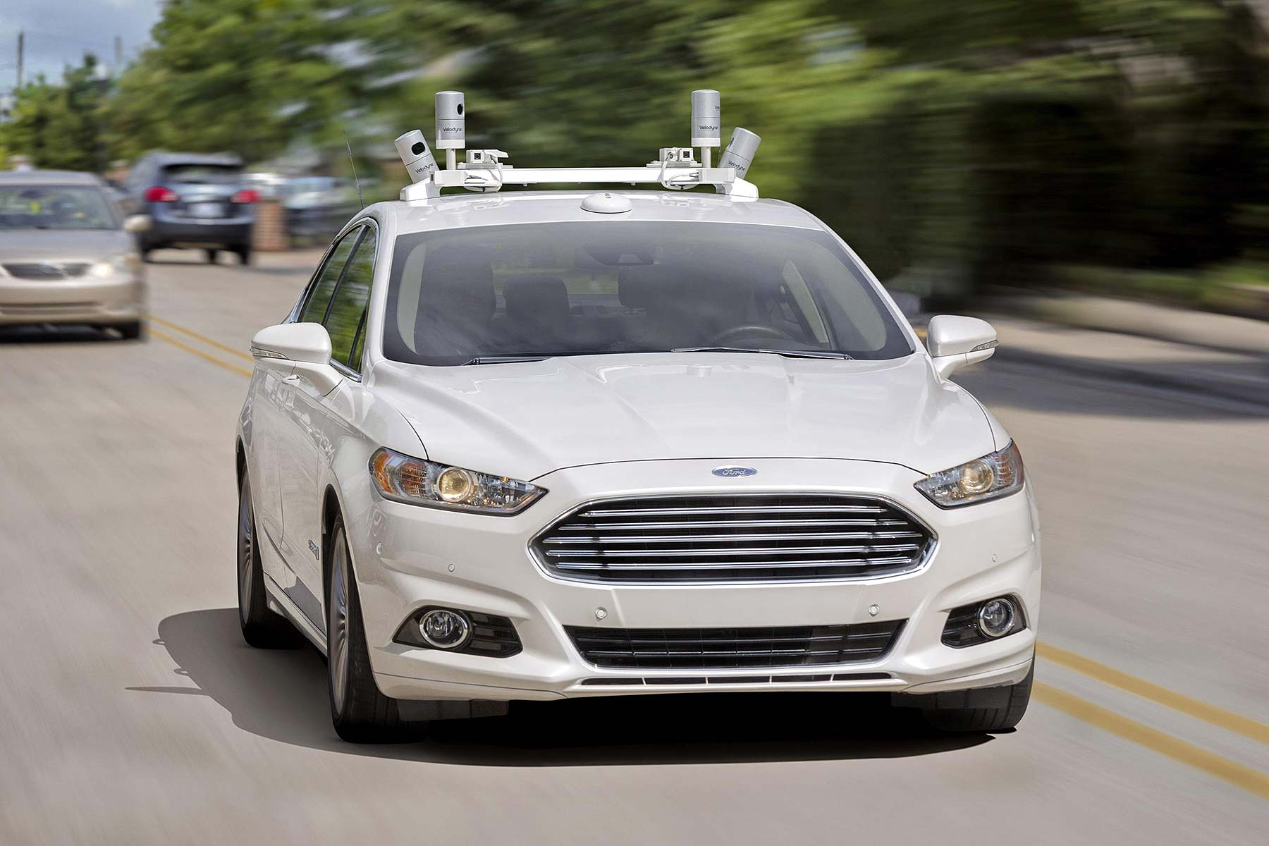 Driverless Ford Fusion Hybrid