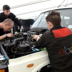Range Rover restoration by eBay at Silverstone Classic