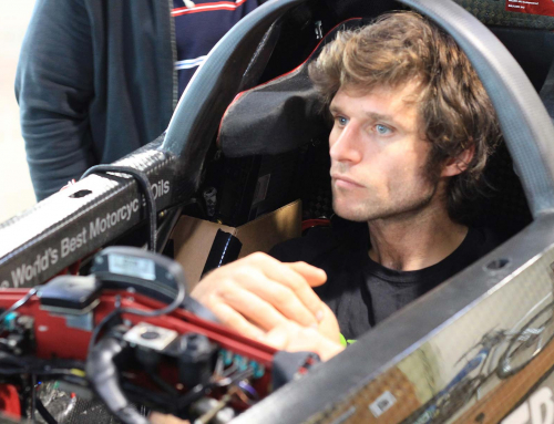 Guy Martin and Triumph in world speed record attempt