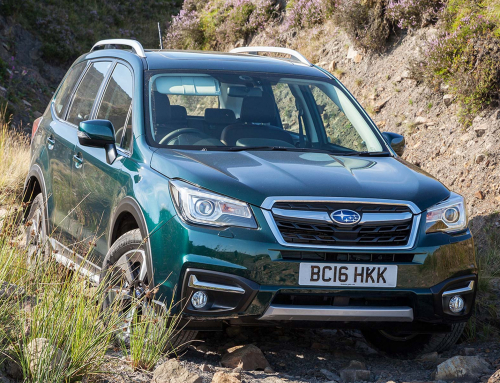 Subaru Forester Special Edition: green but not mean