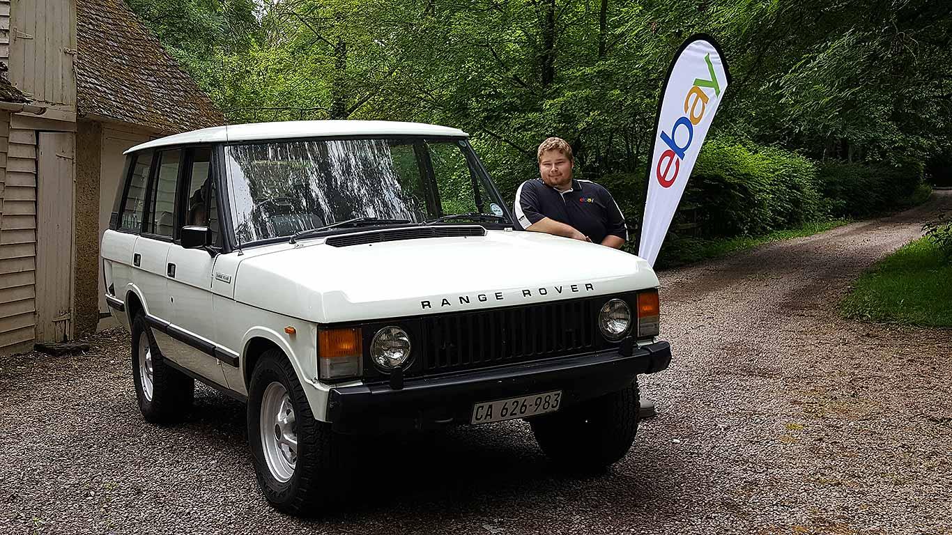 eBay Range Rover
