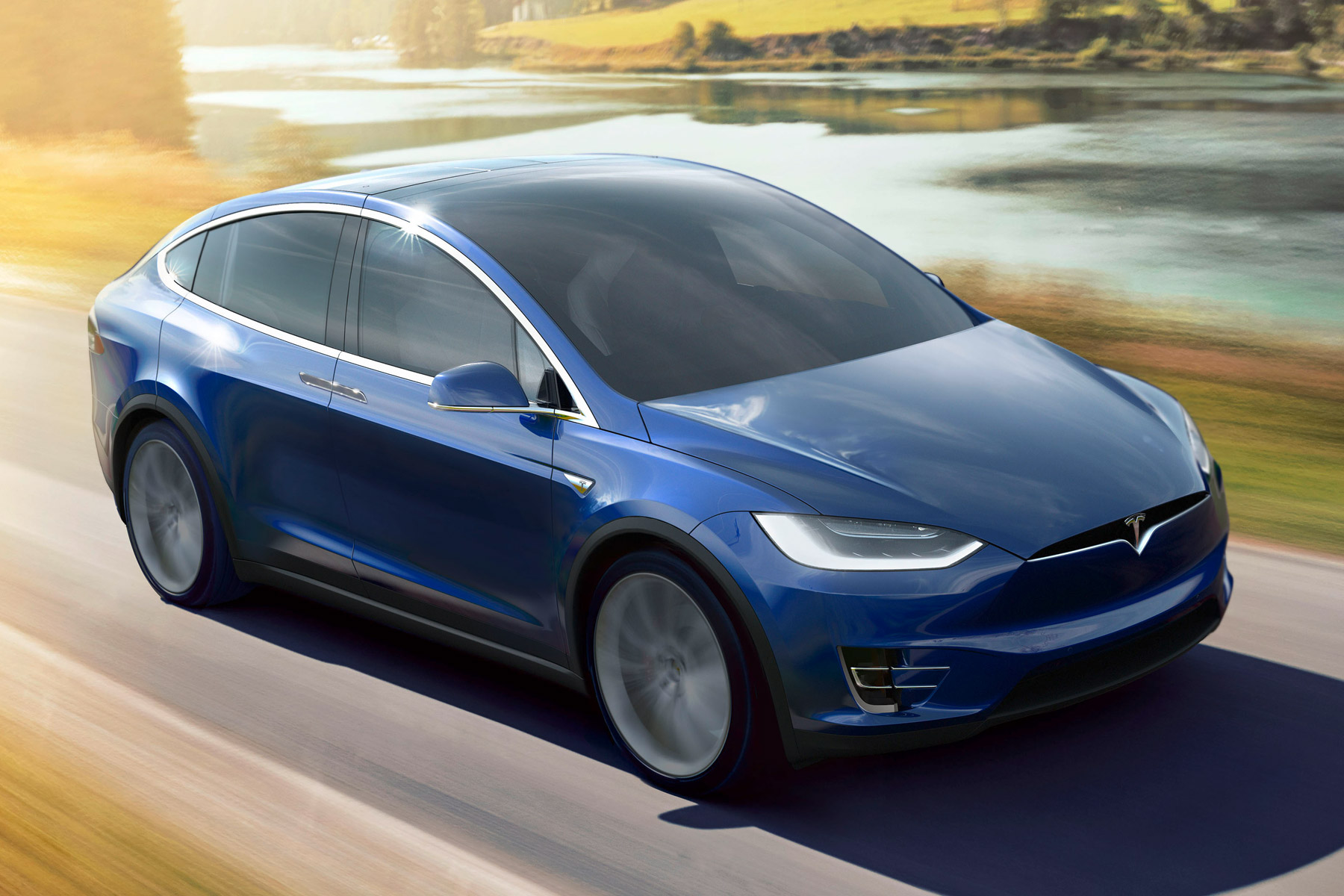 Self-driving Tesla Model X rushes owner to hospital