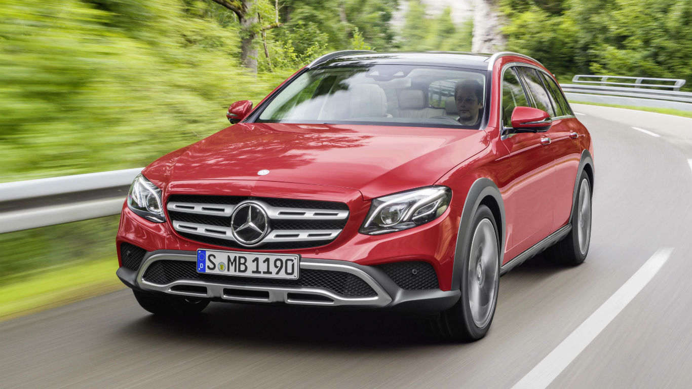 Mercedes-Benz E-Class All-Terrain revealed ahead of Paris debut