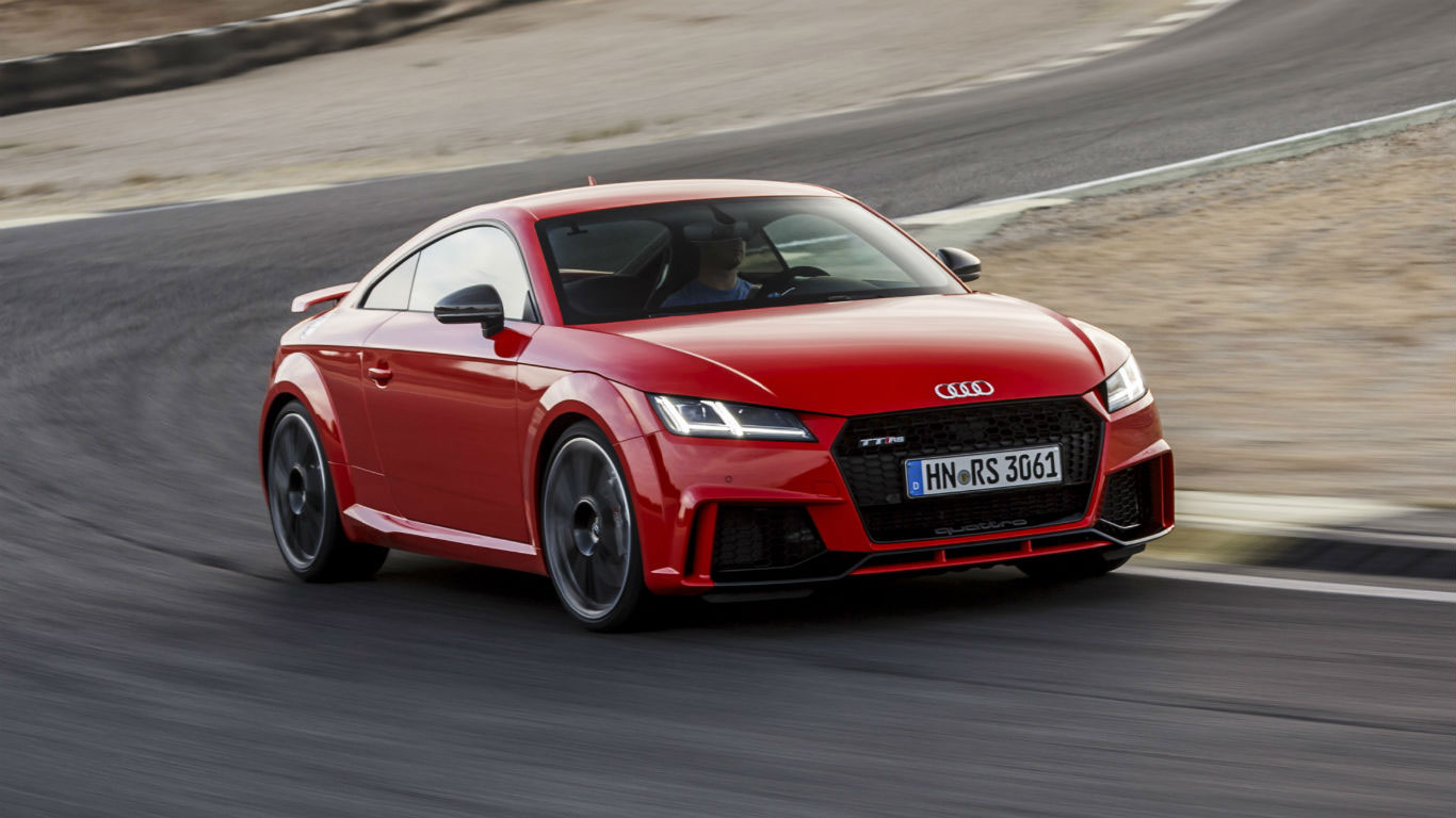 2017 audi tt rs review flat out in the junior r8 motoring research. Black Bedroom Furniture Sets. Home Design Ideas