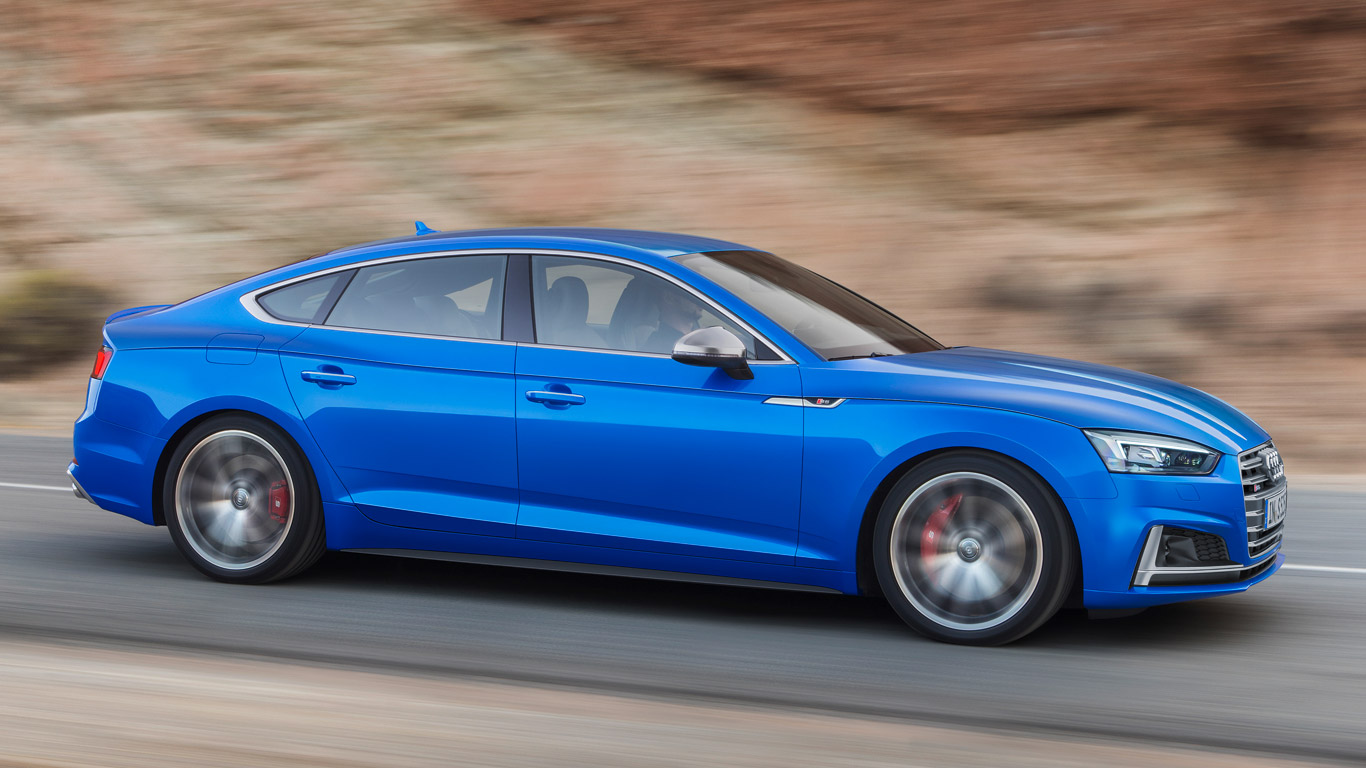 audi a5 and s5 sportback revealed ahead of paris motor show debut. Black Bedroom Furniture Sets. Home Design Ideas