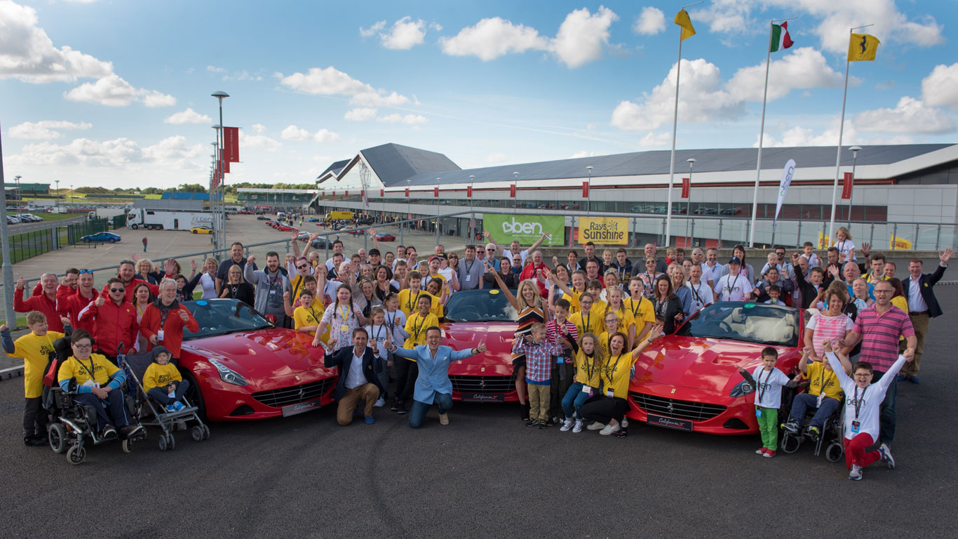 Ferrari delivers sunshine and smiles at Silverstone