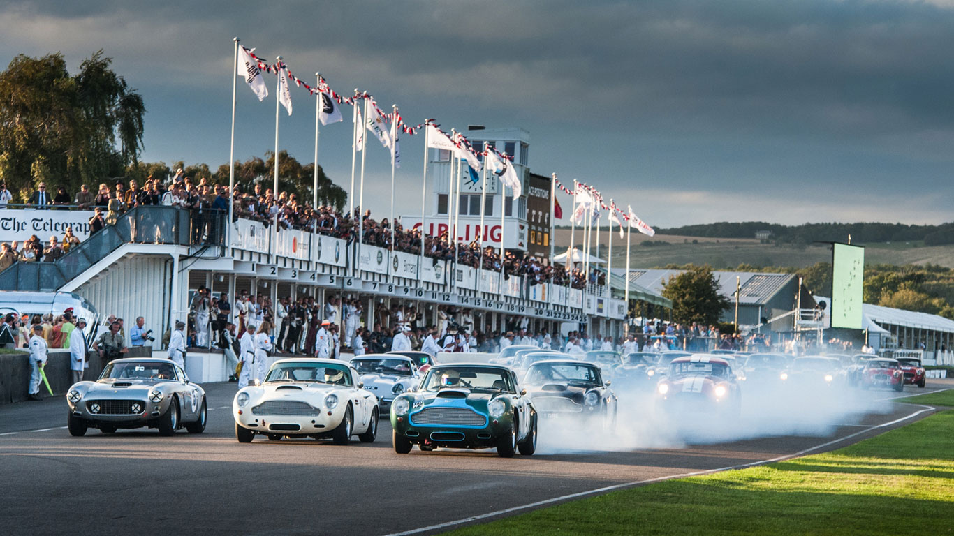 Football, Farage and Ferraris: Goodwood Revival 2016 in pictures