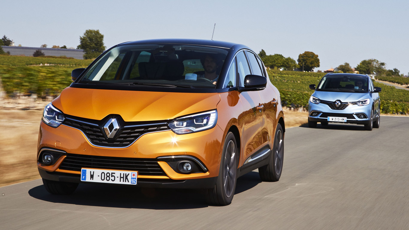 2016 renault scenic review can mpvs be sexy motoring. Black Bedroom Furniture Sets. Home Design Ideas