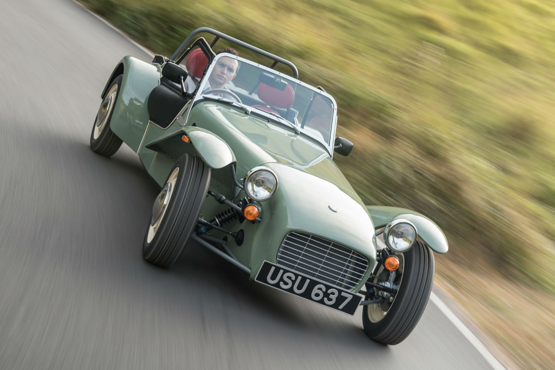 The retro Caterham Seven Sprint has sold out within a week