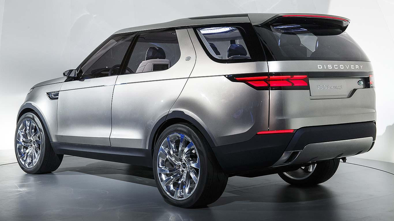 Land Rover Discovery Vision Concept 2017