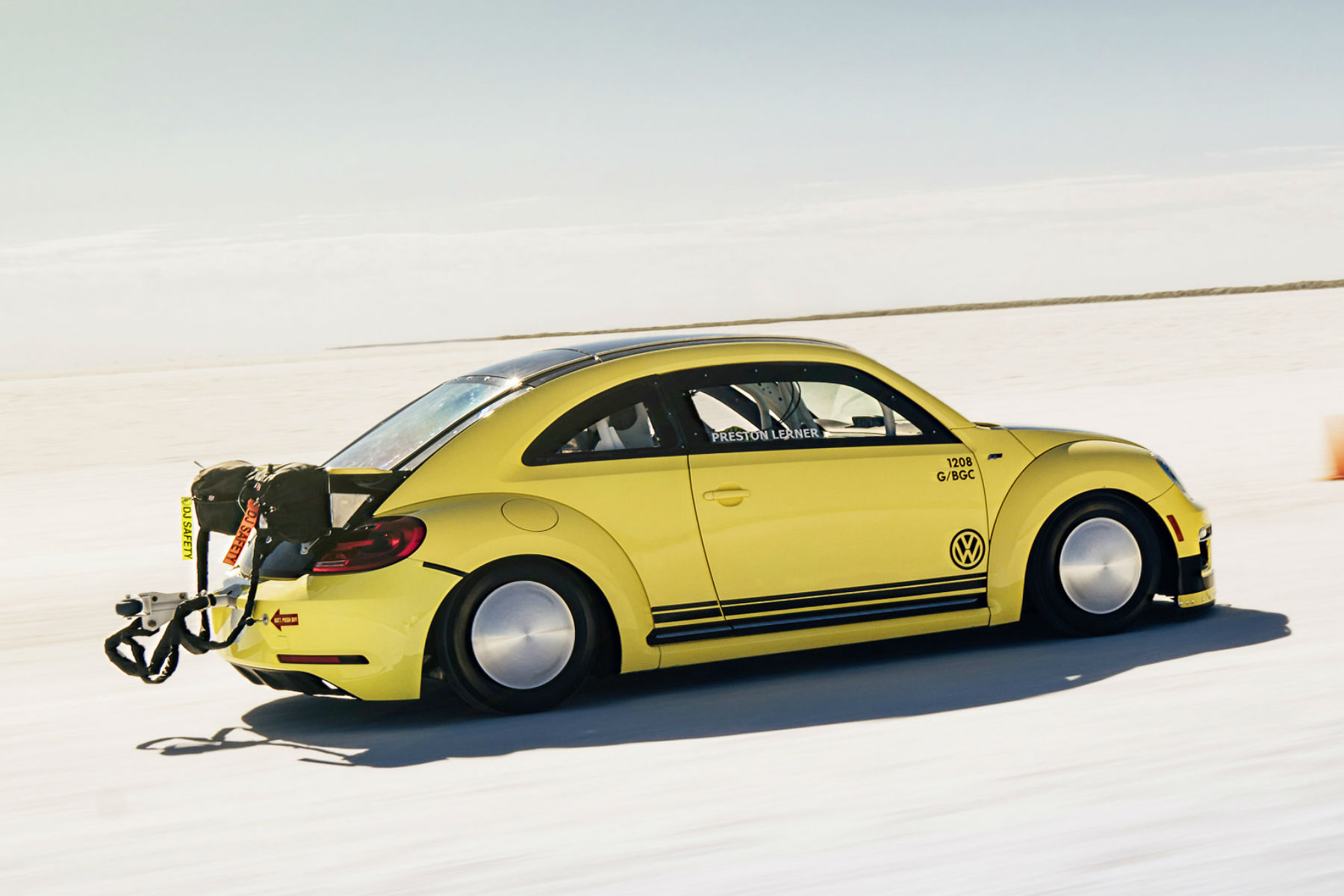Herbie goes bananas: the 205mph Beetle