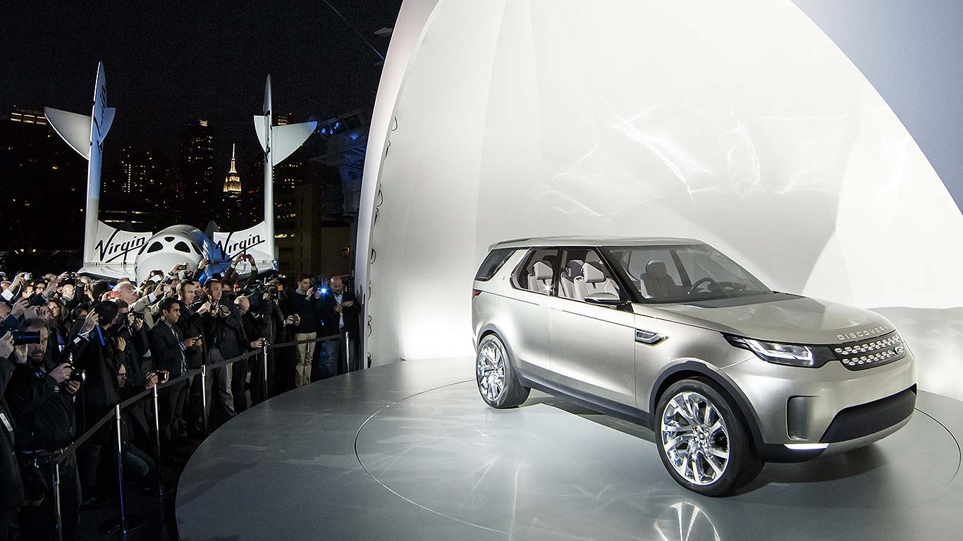 Land Rover Discovery Vision Concept (2014)   Motoring Research