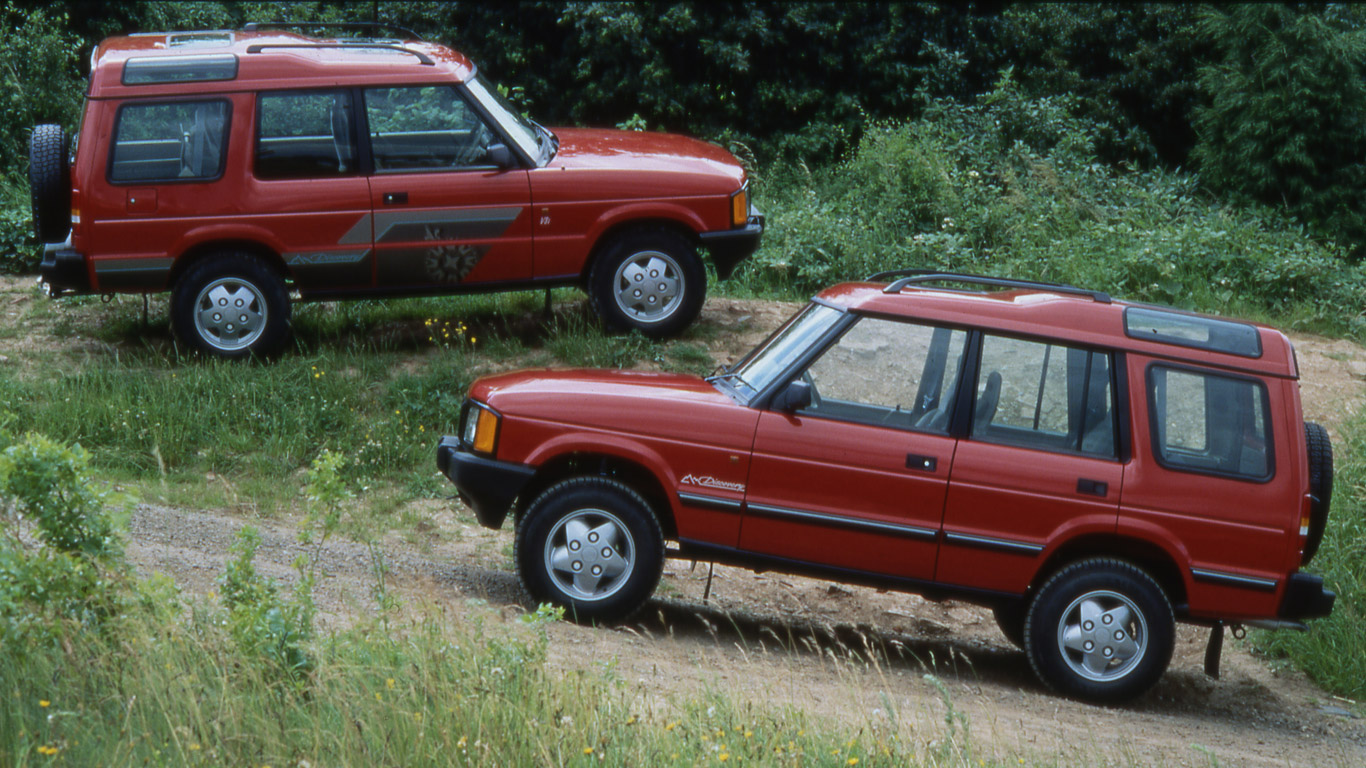 Land Rover Discovery three- and five-door