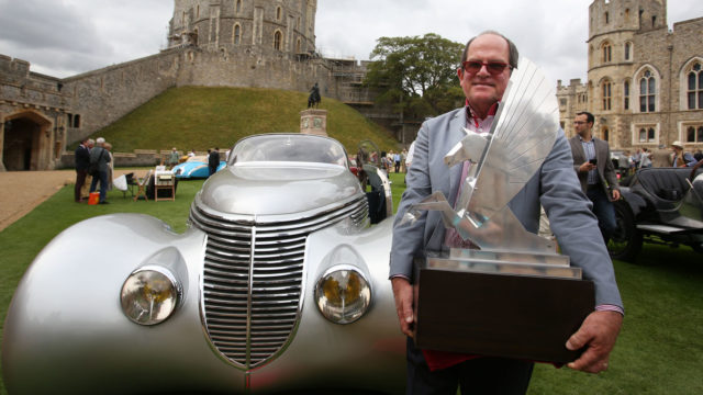 Royal rumble: classics compete at Windsor Castle concours