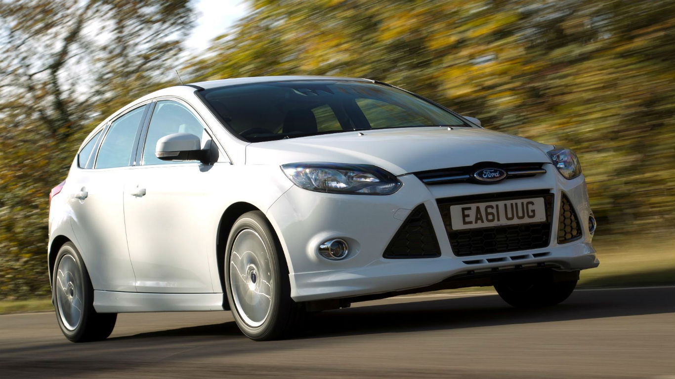 ford focus st line two minute road test motoring research. Black Bedroom Furniture Sets. Home Design Ideas