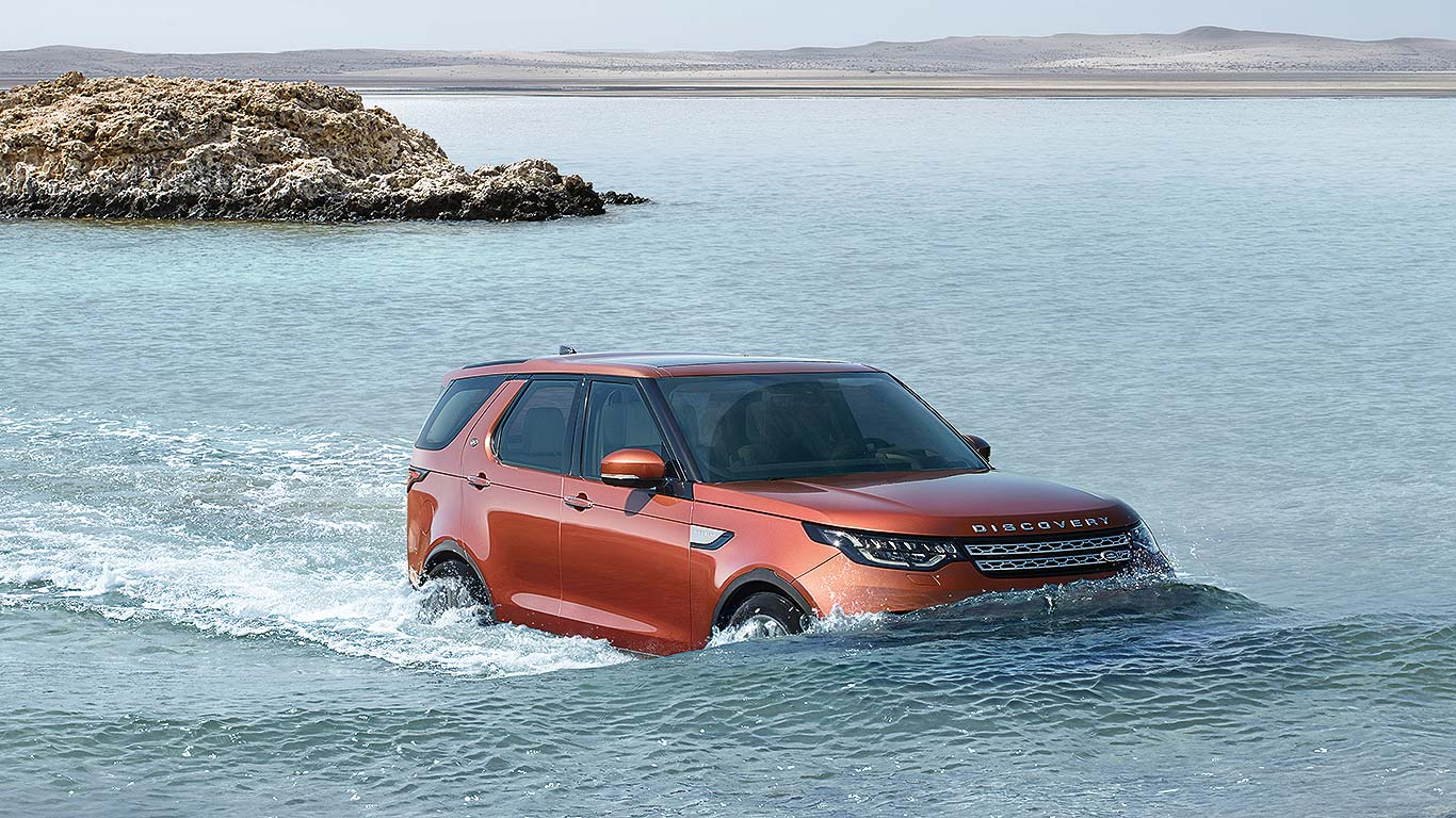 New 2017 Land Rover Discovery