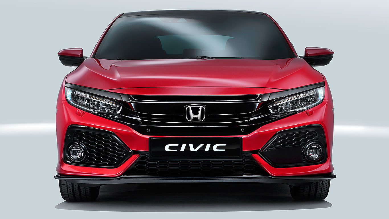 new 2017 honda civic revealed bolder better and british motoring research