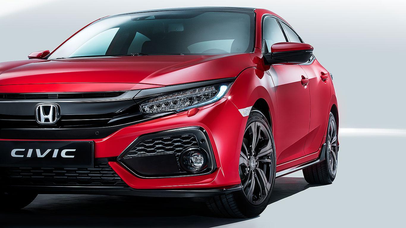 New 2017 Honda Civic Hatch