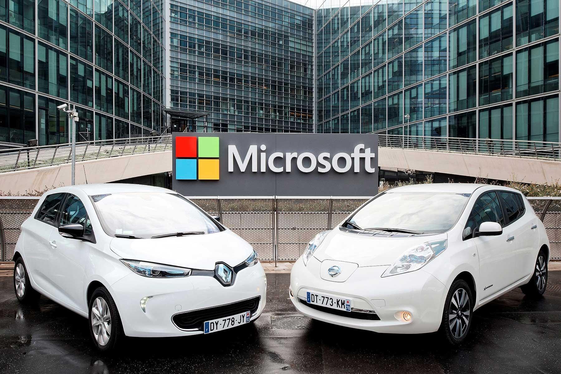 Renault-Nissan and Microsoft