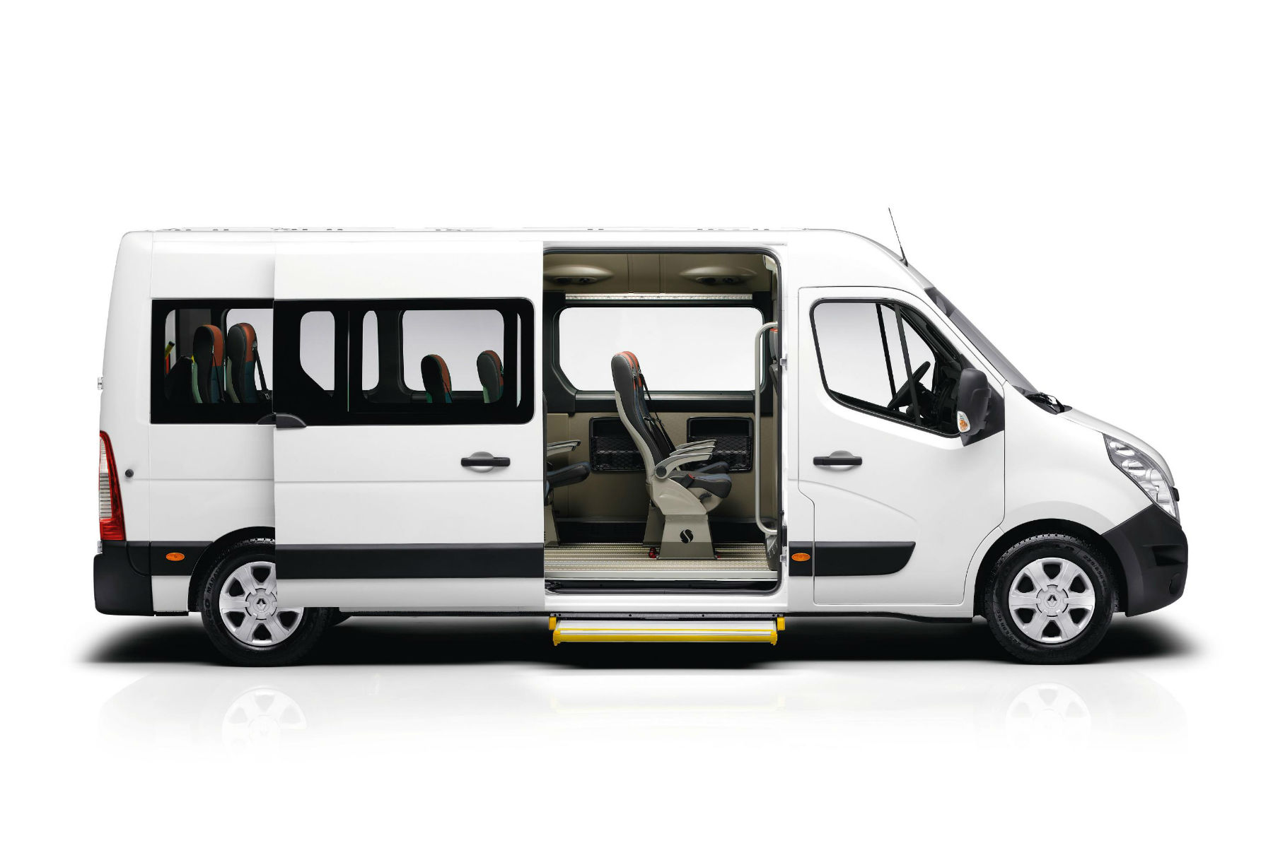 The government wants to give away £2m worth of new minibuses