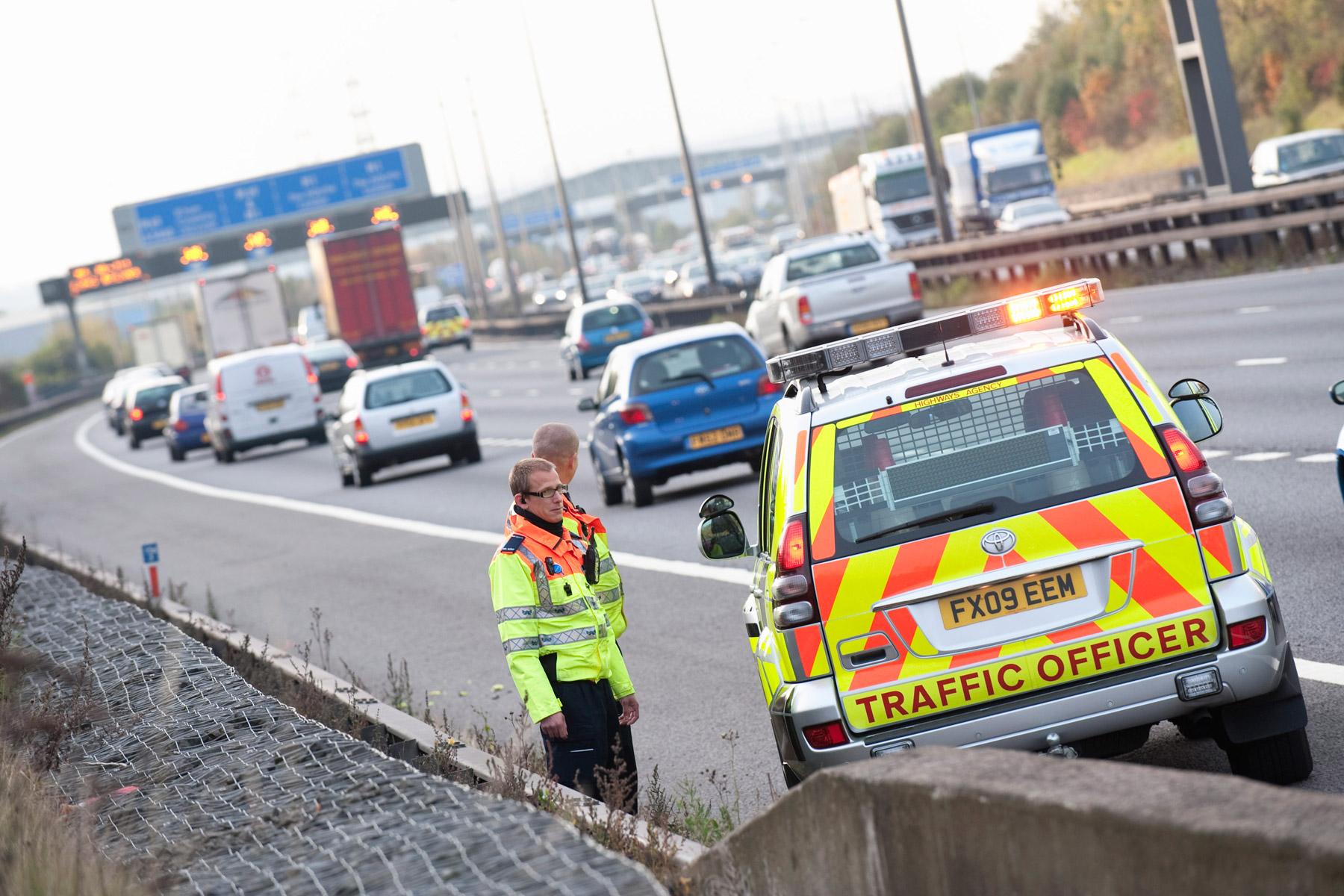 Revealed: the slowest motorways in the UK