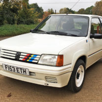 Peugeot 205 Rallye: Retro Road Test