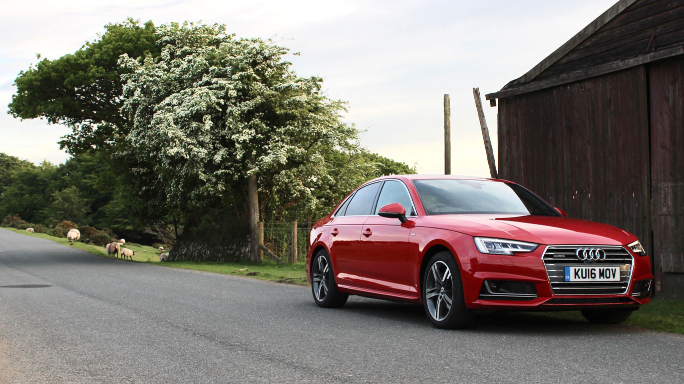 Audi A TDI S Line Review TwoMinute Road Test Motoring Research - 2018 audi a4 s line