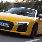 2016 Audi R8 Spyder review: open-air V10 thunder
