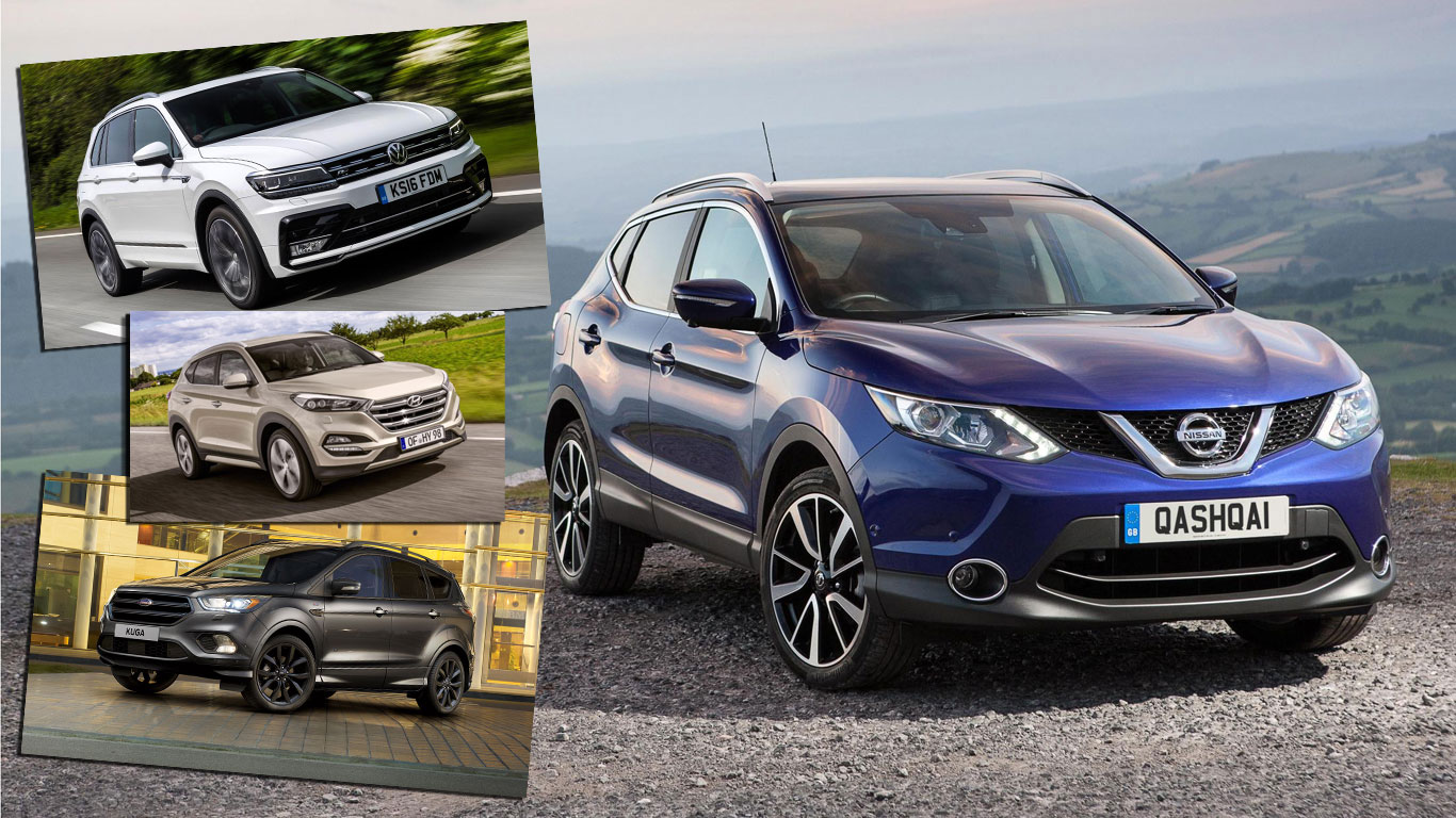 Revealed: Europe's most popular compact SUVs