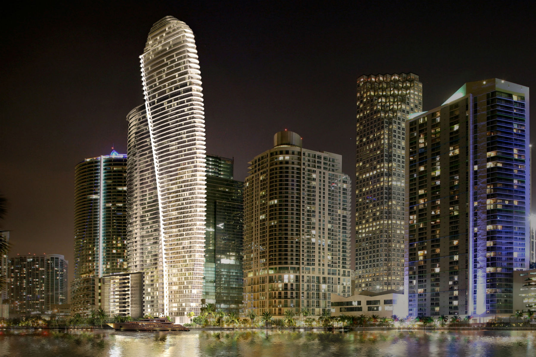 Aston Martin is building a posh block of flats in Miami