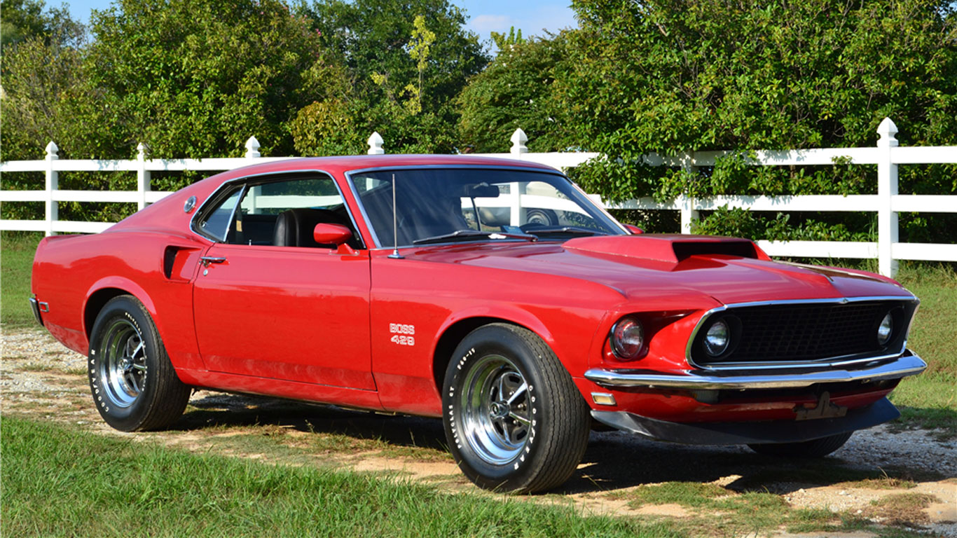 Ford Mustang Boss 429: $357,500 (£294,000)