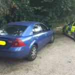 'Stupid' driver arrested on suspicion of supplying drugs