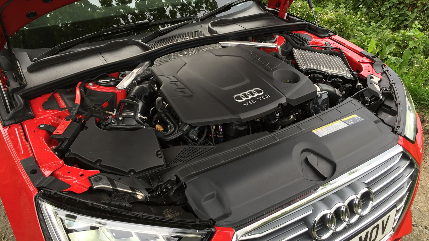 audi a4 3 0 tdi s line review two minute road test. Black Bedroom Furniture Sets. Home Design Ideas