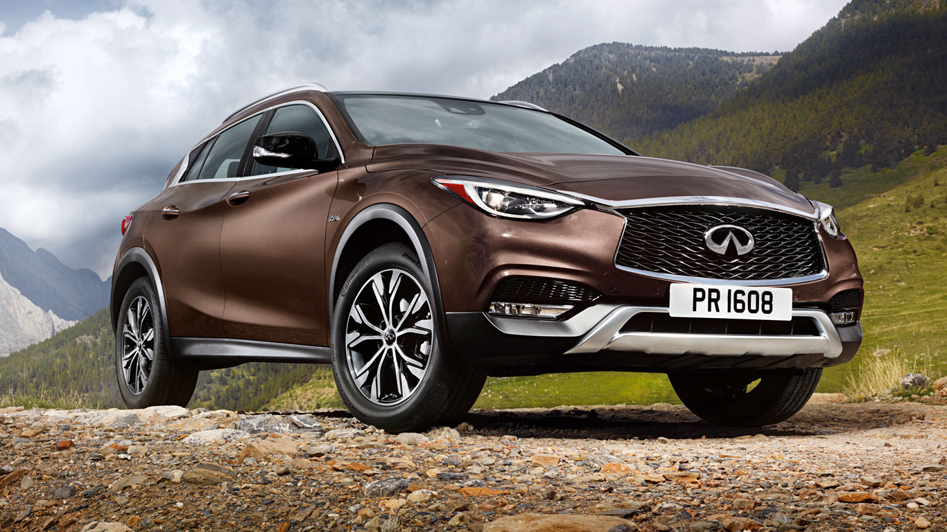 24. Infiniti QX30: 93 registrations
