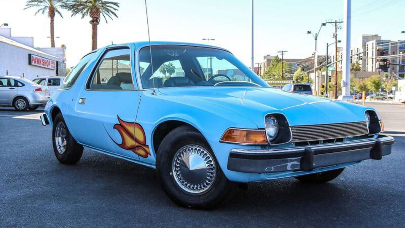 AMC Pacer 'Wayne's World': $37,400 (£31,000)