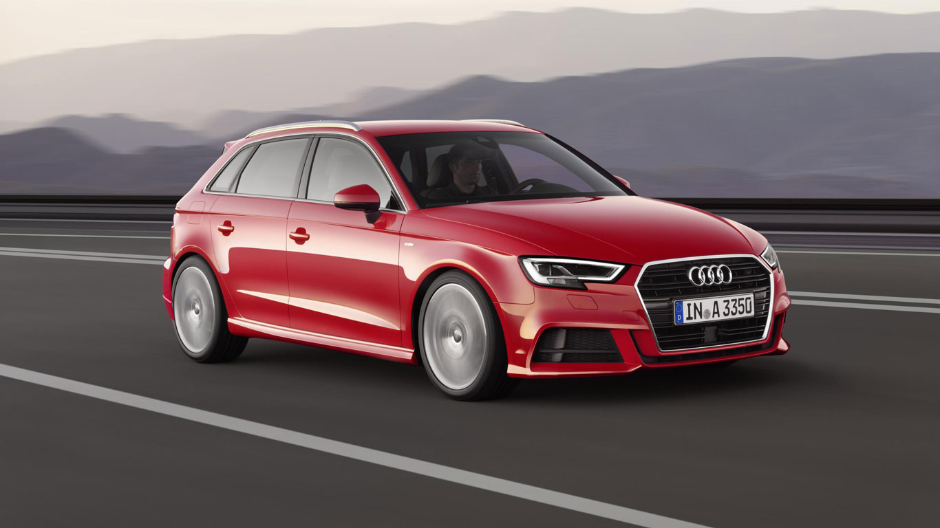 12. Audi A3/S3/RS3: 17,029 registrations