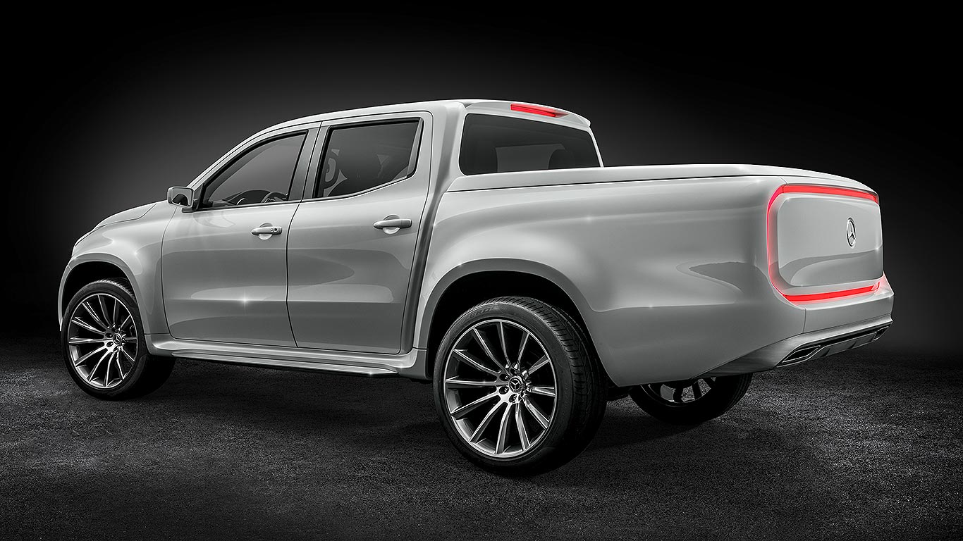 Mercedes benz x class pick up concept everything you need for Price for mercedes benz