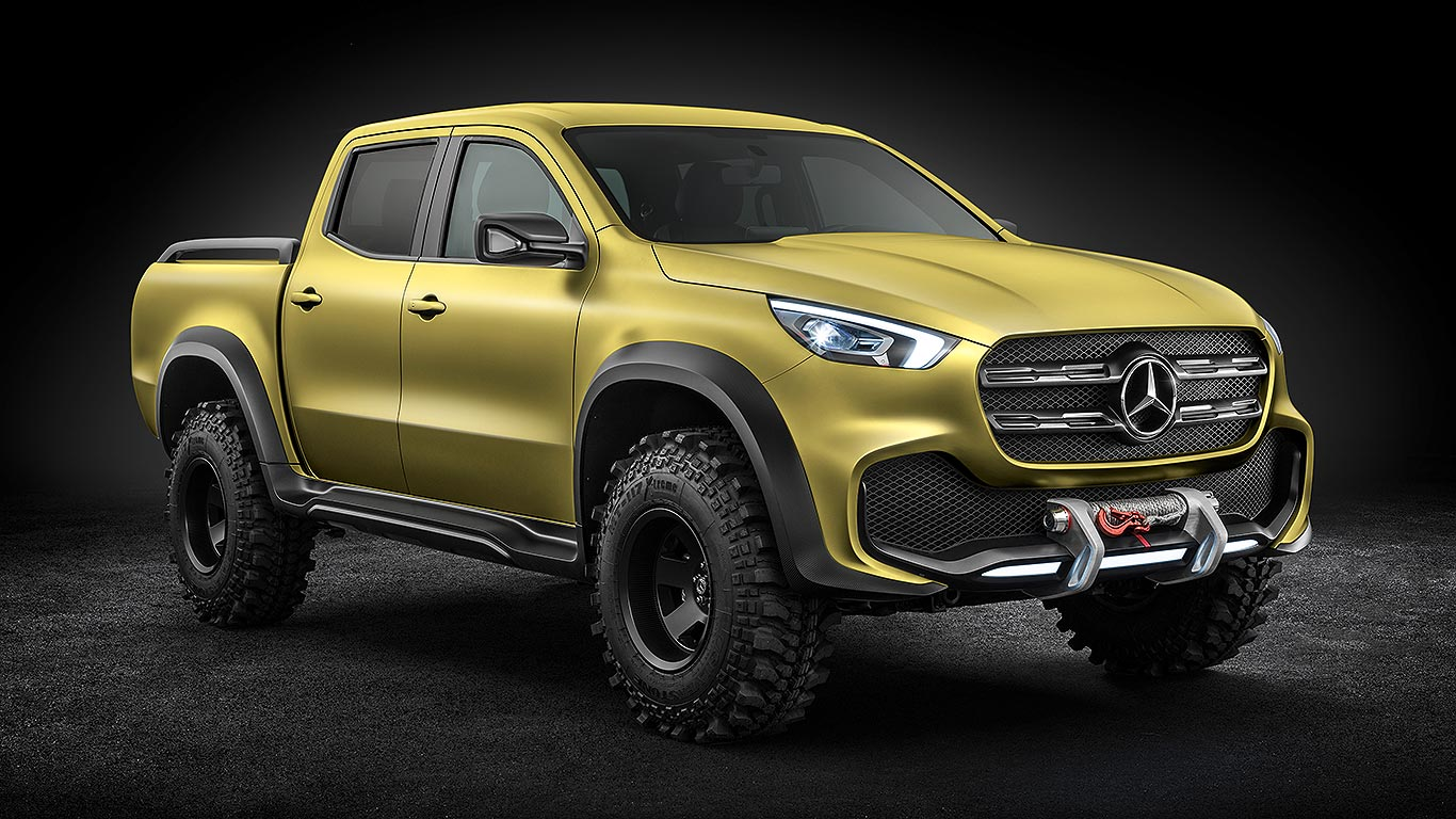 mercedes benz x class pick up concept everything you need to know. Black Bedroom Furniture Sets. Home Design Ideas