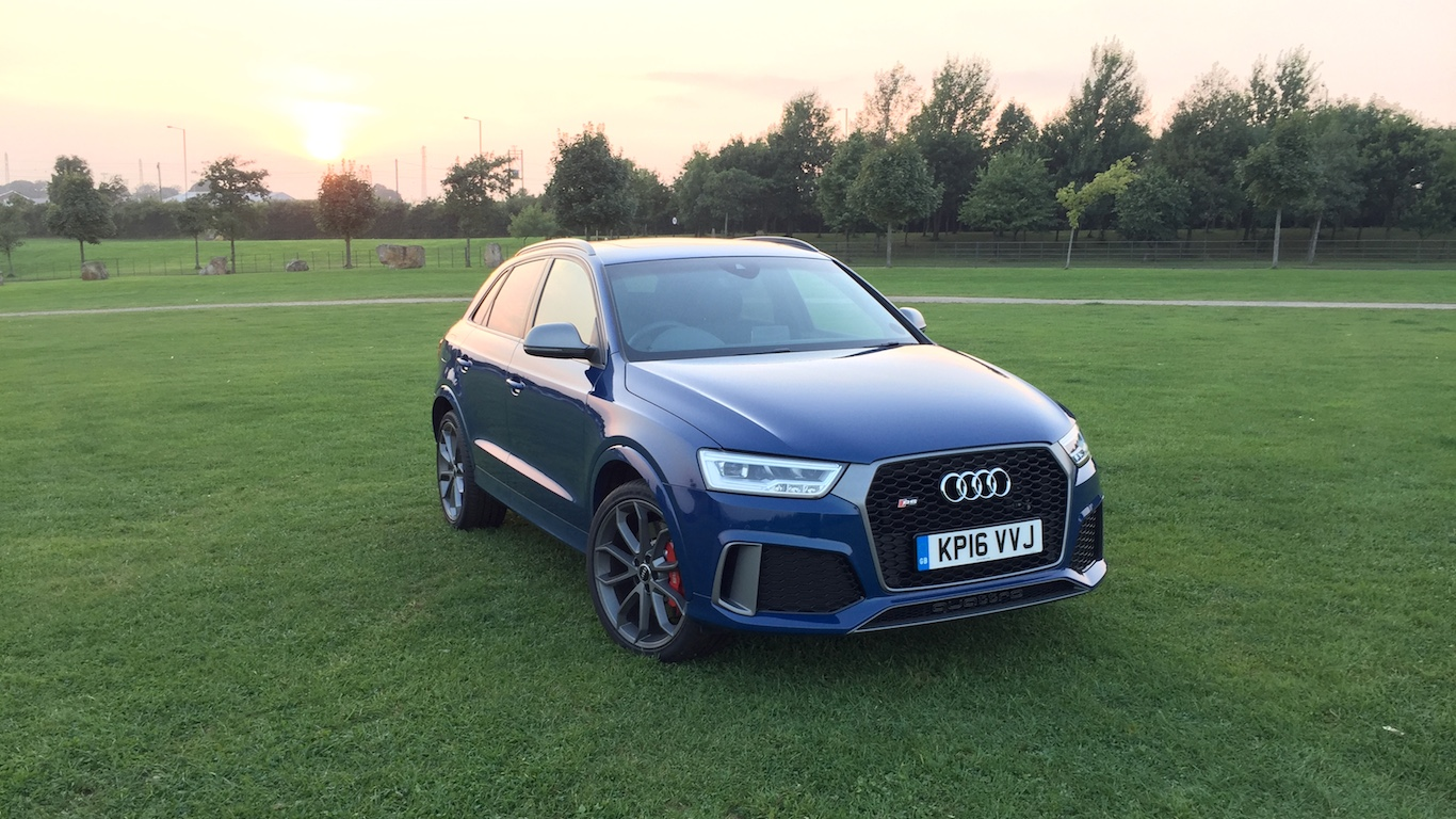 Audi Rs Q3 Performance Review Two Minute Road Test Motoring Research