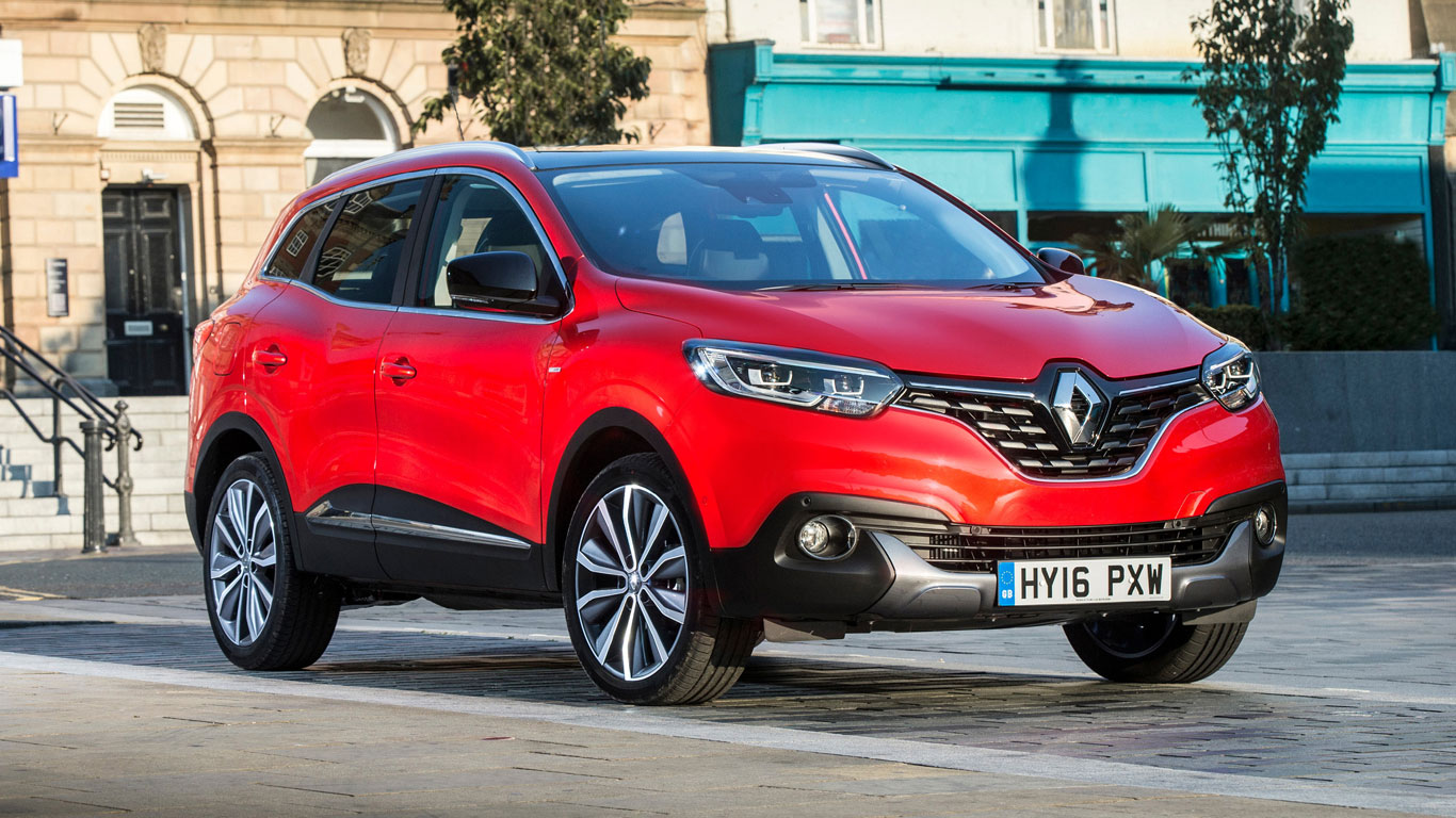 6. Renault Kadjar: 10,047 registrations