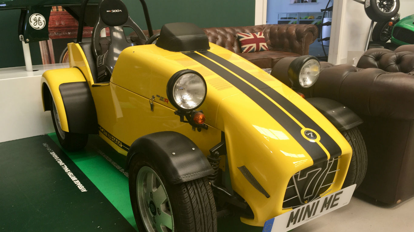 Caterham Cars visit