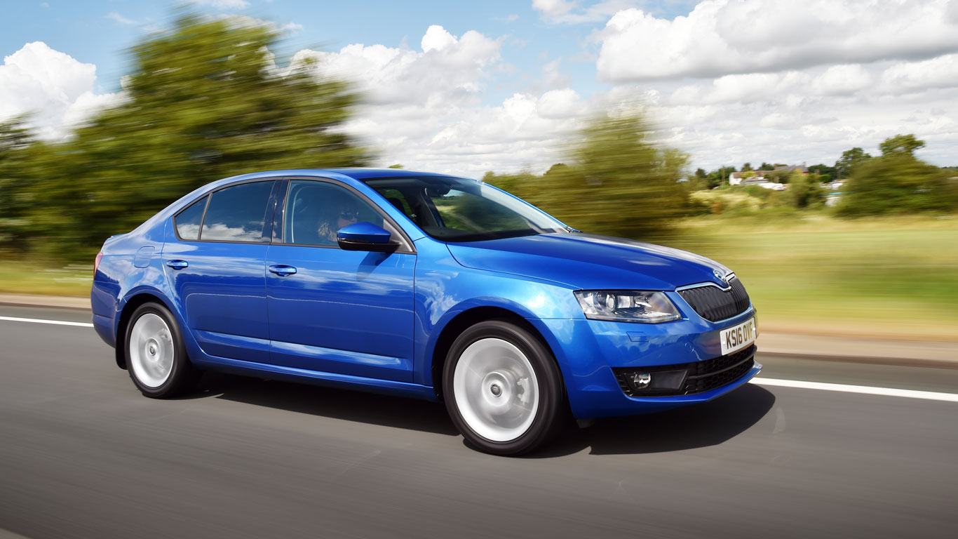 Switzerland: Skoda Octavia (1,003 registrations)
