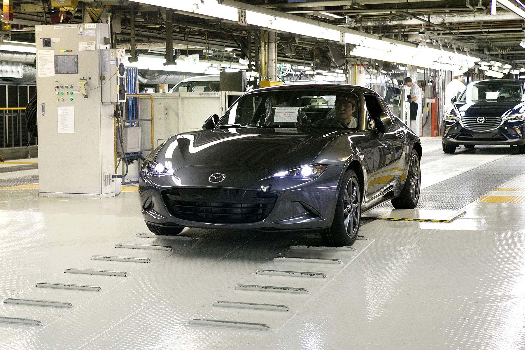 Mazda MX-5 RF Job 1