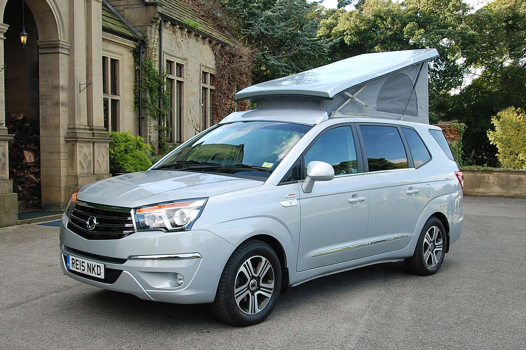 SsangYong Turismo Tourist Camper