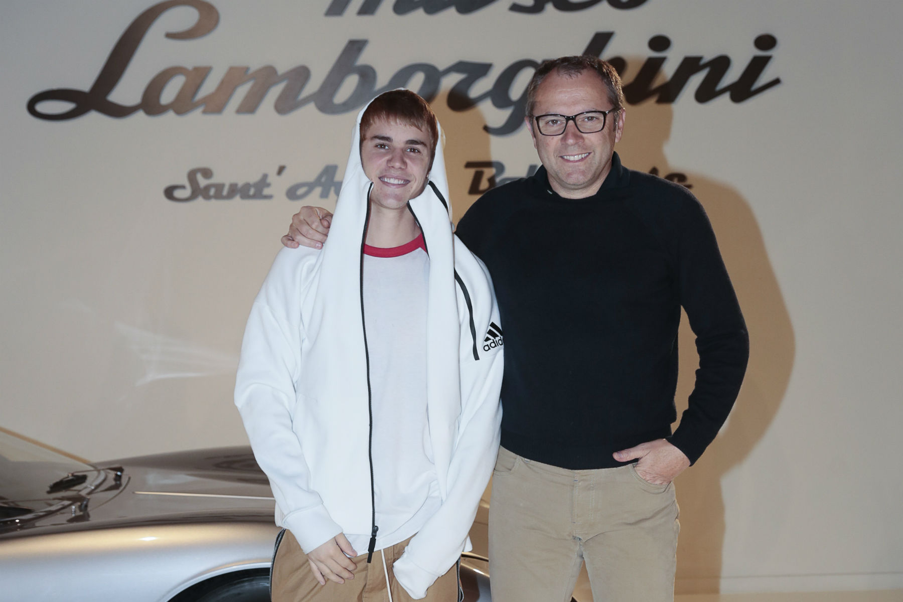 Justin Bieber has met Lamborghini's CEO and driven an Aventador Roadster