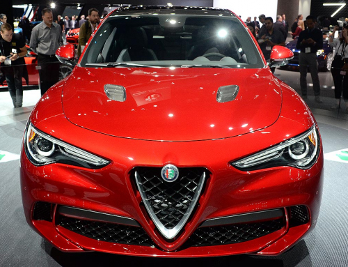 Alfa Romeo Stelvio SUV revealed at LA Auto Show