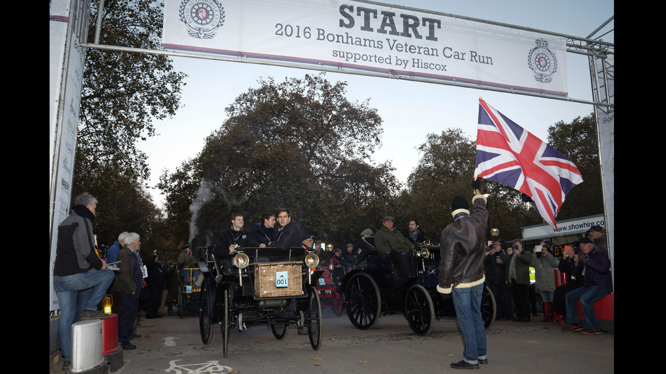 2016 London to Brighton Veteran Car Run: in pictures