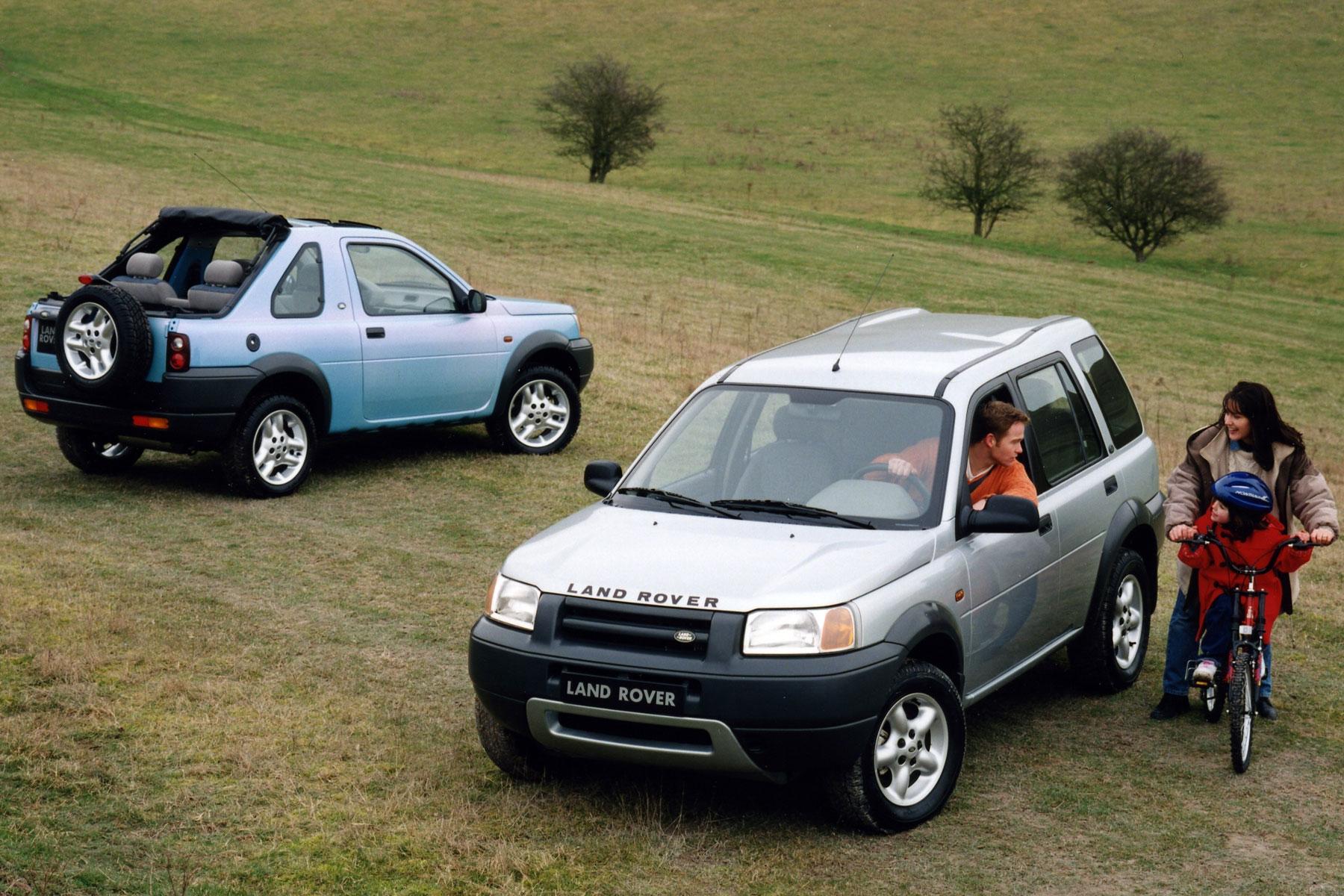 3: Land Rover Freelander