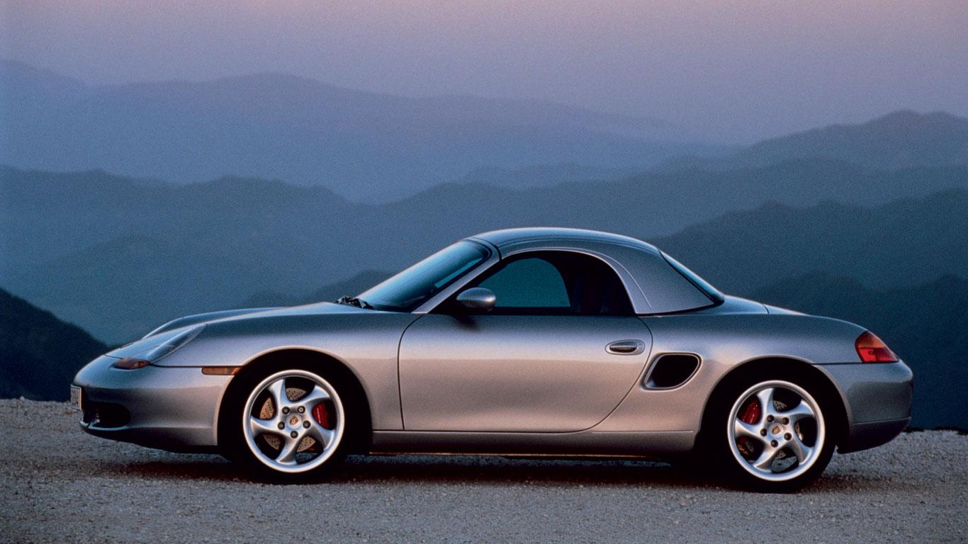 Porsche Boxster: hard-top