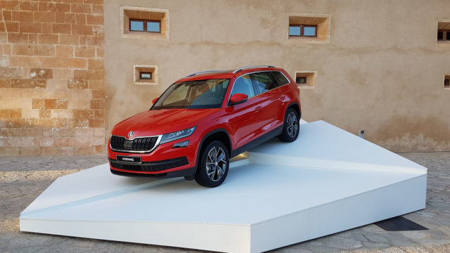 2017 skoda kodiaq review just another suv motoring research. Black Bedroom Furniture Sets. Home Design Ideas